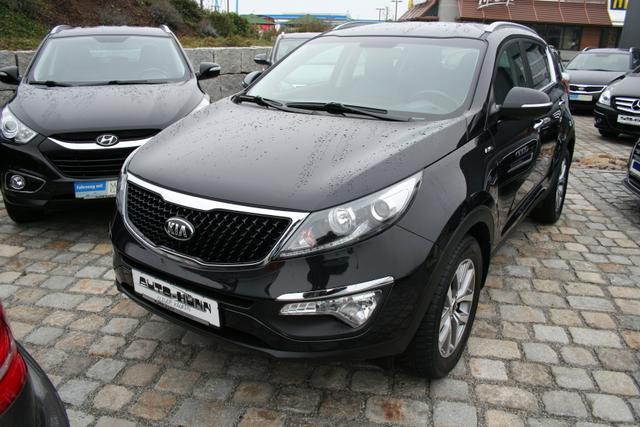 Gebrauchtfahrzeug Kia Sportage - 2.0 CRDi 136 PS 4WD 4x4-Teilleder-Klimaautomatik-Sitzheizung-Bluetooth-SHZ-Sofort