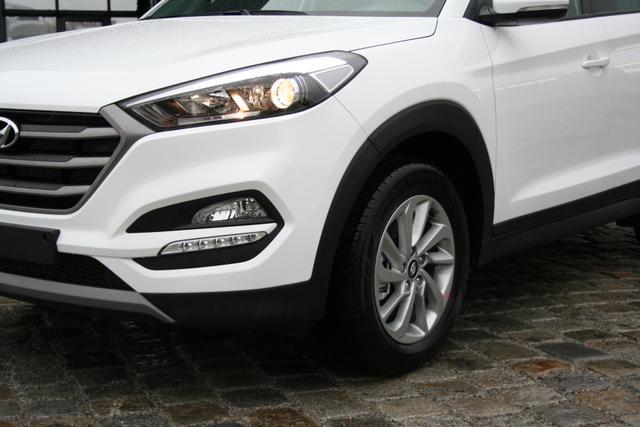 Hyundai Tucson - 1.6 T-GDI 177 PS Automatik-Navi-LED-Rückfahrkamera-SHZ-PDC-Sofort