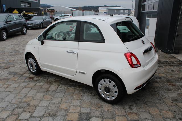 Fiat 500 - Pop 1.2 69 PS-5JahreGarantie-MuFu-Klima-ZVFunk-RadioUSB