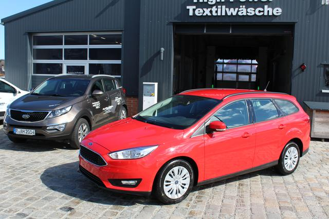 Ford Focus Turnier - 1.6 Duratec TI-VCT 105 PS-Klima-MFL-Radio/CD-TOP AKTION Sofort