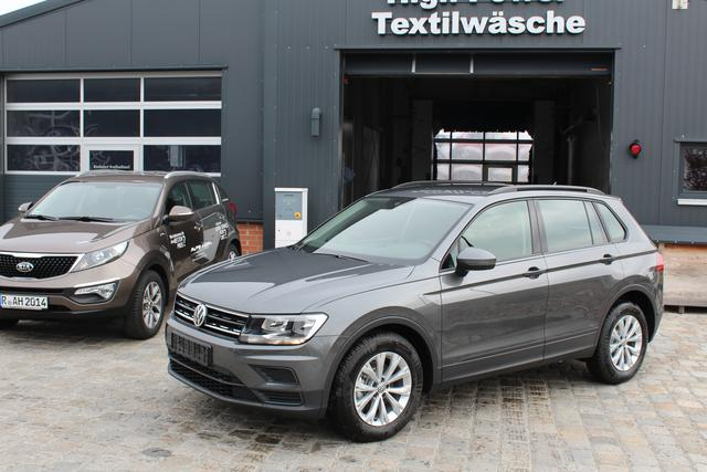 Volkswagen Tiguan - 1.4 TSI 125 PS- Climatronic 3 Zonen-Frontassistent-SHZG-Bluetooth-TOP Sofort