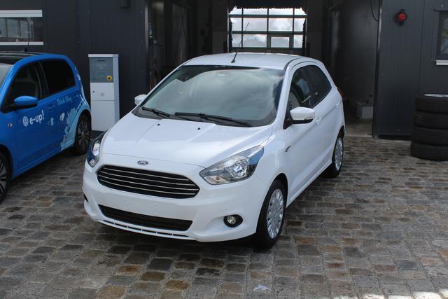 Ford Ka/Ka+ - 1.2 86 PS Ultimate-Garantie 5 Jahre-Klima-Bluetooth-MFL-SHZG-TOP AKTION Sofort
