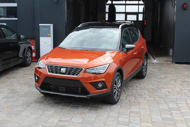 Seat Arona - 1.0 TSI 115 PS Xcellence-LED Scheinwerfer-Navi-Front Assistent-Climatronic-PDC-TOP Sofort
