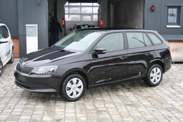 Skoda Fabia Combi - 1.0 TSI 95 PS-Smart-4 Jahre Garantie-Bluetooth-SHZG-Klima-MFL-TOP Aktion Sofort