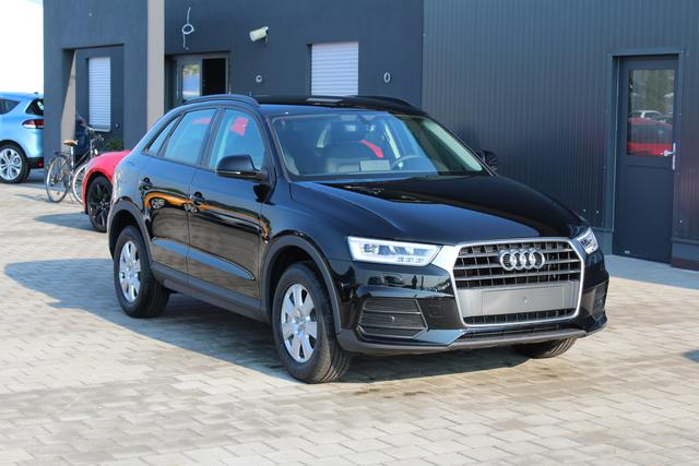 Audi Q3 - 1.4 TFSI S-Tronic 150 PS-LED Scheinwerfer-4 Jahre Garantie-el. Heckklappe-Connectivity Paket-Sofort