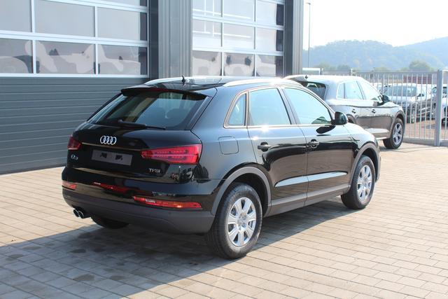 Audi Q3 - 1.4 TFSI 150 PS-LED Scheinwerfer-AKTION-Dachreling Silber-4 Jahre Garantie-el. Heckklappe-Connectivity Paket-sofort