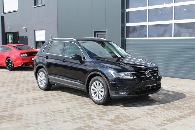 Volkswagen Tiguan - 1.4 TSI 125 PS Top-Comfort-VollLED-AHK-Navi-SHZ-2xPDC-Sofort