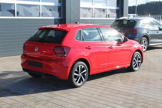 Volkswagen Polo - 1.0 TSI 95 PS Highline-Navi-Klima-Bluetooth-Frontassistent-MFL-SHZG-TOP AKTION Sofort