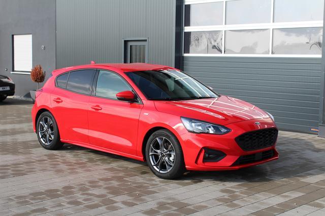 Ford Focus 4-Türer - NEUER ST-Line 1.0 EcoBoost 125 PS-5 Jahre Garantie-Navi-Klimaautomatik-PDC Vu.h-TOP AKTION Sofort