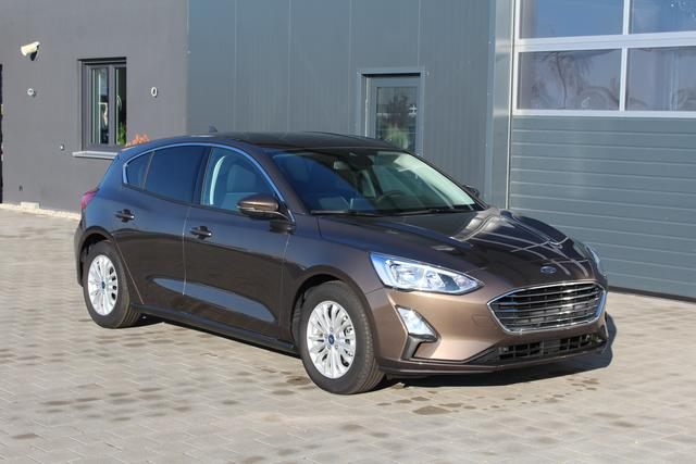 Ford Focus - 1.0 EcoBoost 125 PS Titanium-5 Jahre Garantie-Navi-Klimaautomatik-Winterpaket-PDC Vu.H-Bluetooth-Top Sofort