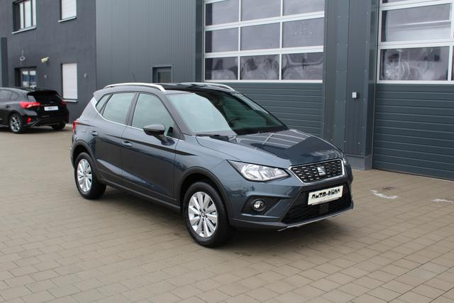 Seat Arona - 1.0 TSI 95 PS Xcellence BICOLORE-Keyless Go-Klima-Winter Paket-Bluetooth-Front Assistent-TOP Sofort