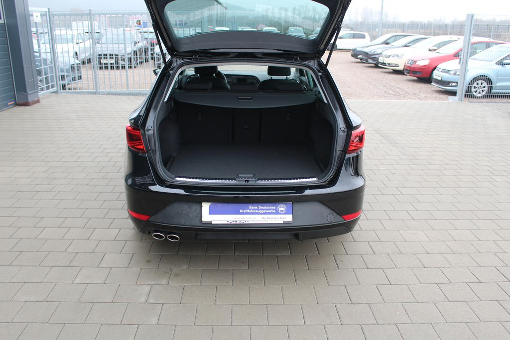 seat leon st facelift 1 4 tsi 125 ps fr climatronic mfl. Black Bedroom Furniture Sets. Home Design Ideas