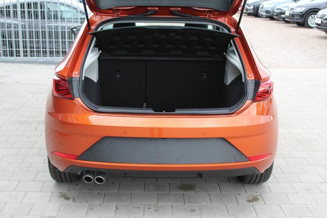 Seat Leon 1.5 TSI 130 PS FR-4 Jahre Garantie-LED Scheinwerfer-Navi-Climatronic-Rückfahrkamera-TOP Sofort