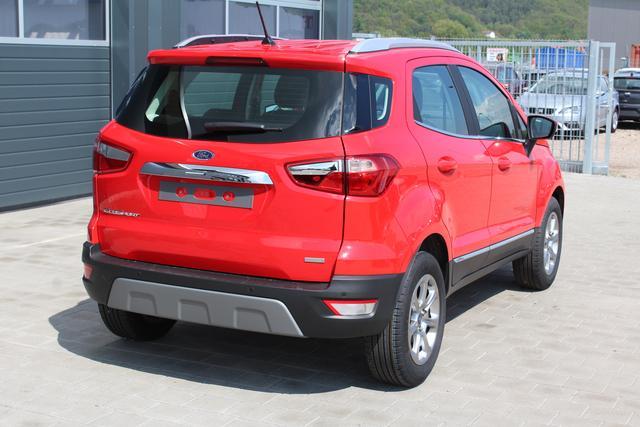 Ford EcoSport - 1.0 EcoBoost 125 PS Titanium-5 Jahre Garantie-Climatronic-Winterpaket-Bluetooth-Licht+Regensensor-Aktion Sofort
