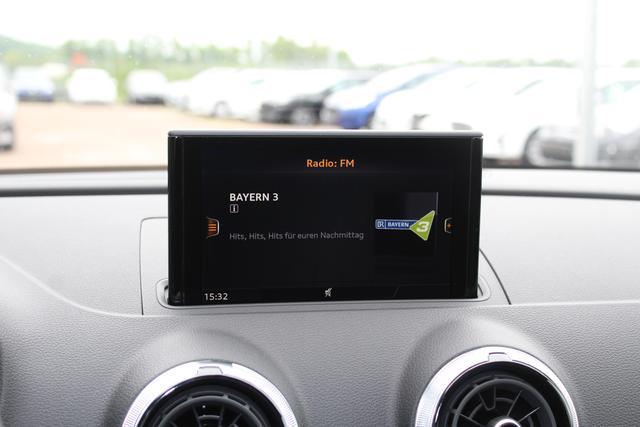 Audi A3 Sportback 1.0 TFSI 116 PS-5 Jahre Garantie-Bi Xenon-Navi-Climatronic-PDC-MFL-SHZG-TOP Aktion Sofort BFY