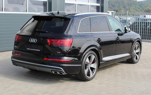 Audi SQ7 - 4.0 TDI 435 PS quattro tiptronic-Garantie 4 Jahre-LED-Leder-Panoramadach-Keyless-Kamera u.v.m.-TOP Sofort