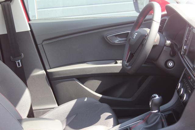 Seat Leon 1.5 TSI 130 PS FR-LED Scheinwerfer-Smart Link mit Navifunktion-Climatronic-Rückfahrkamera-SHZG-MFL-TOP Sofort