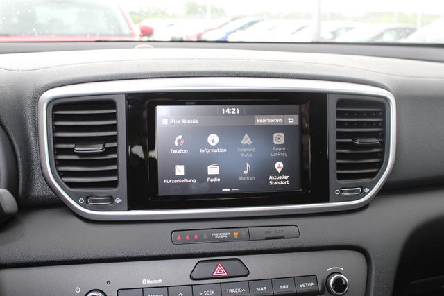 Kia Sportage - 1.6 T-GDI 177 PS Allrad Exclusive-Voll LED-Navi-Kamera-Spurhalteassistent-Fernlichtassistent-Aktion Sofort