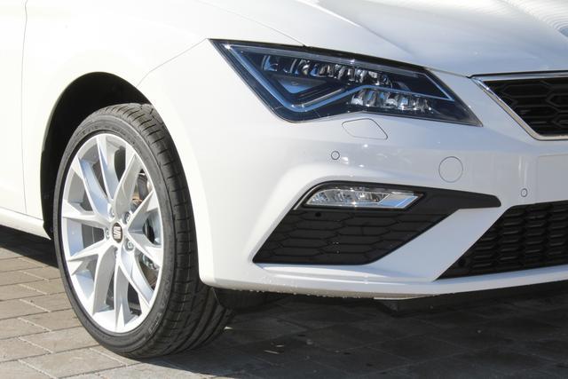 Seat Leon - 1.5 TSI 130 PS FR-LED Scheinwerfer-Smart Link mit Navifunktion-Climatronic-Rückfahrkamera-SHZG-MFL-TOP Sofort