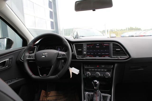 "Seat Leon Sportstourer ST FR 2.0 TDI 150 PS-Tempomat-Bluetooth-SHZ-Climatronic-17""Alu-Sofort"