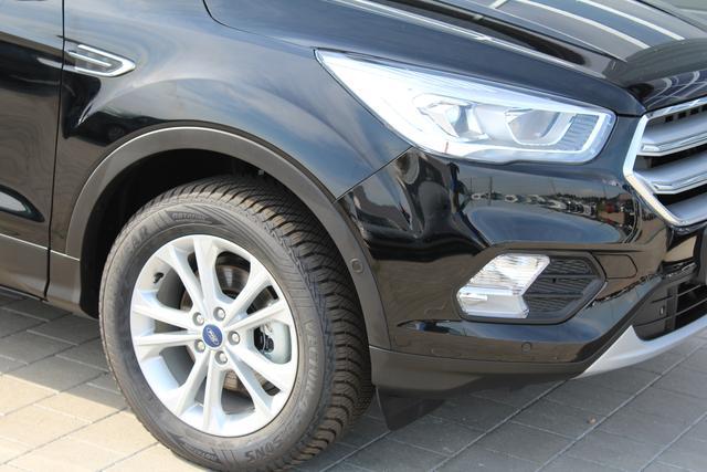 Ford Kuga - 1.5 150PS Ecoboost Titanium Teil-Leder Klimaautomatik Rückf.Kamera elekt.Heckklappe Winterpaket Allwetter-R. Navi PDC v+h-sofort