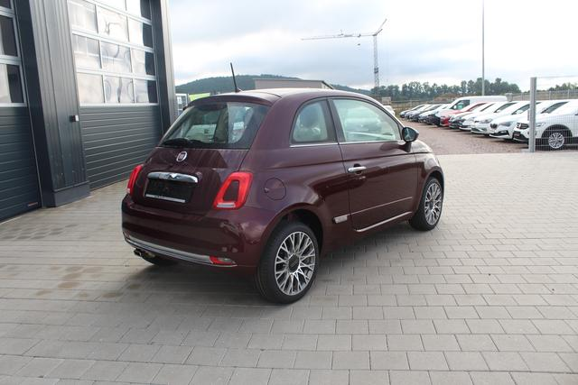 Fiat 500 - 1.2 69 PS Lounge-Glasdach-Klimaautomatik-PDC-Bluetooth-MFL-Tempomat+Limiter-AKTION-Sofort