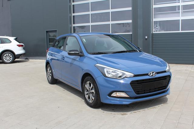 Hyundai i20 - 1.2 75 PS Family + GO-Klima-Radio-Bluetooth-MFL-ALU-TOP AKTION Sofort