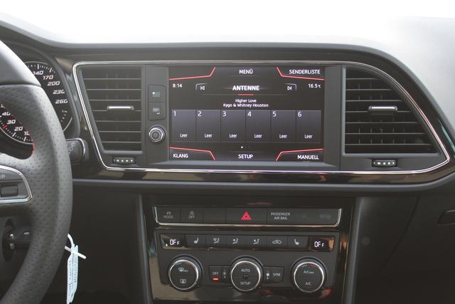 "Seat Leon FR 2.0 TDI-Navi-Climatronic-VollLED-SHZ-18""Alu-FullLink-Kamera-Sofort"