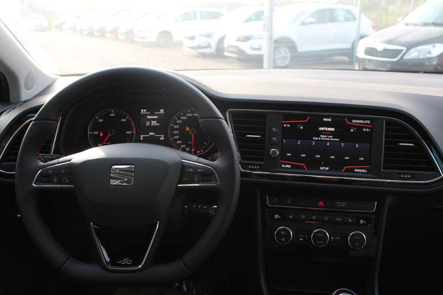 "Seat Leon Sportstourer ST FR 2.0 TSI 190 PS DSG-Navi-VollLED-SHZ-18""Alu-2xPDC-Rückfahrkamera-Sofort"