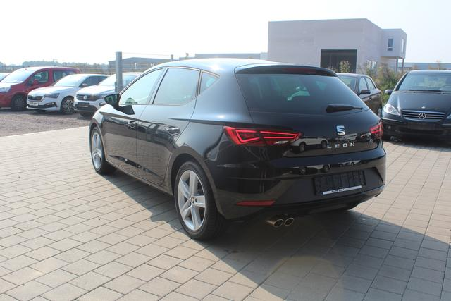 Seat Leon Facelift 1.4 TSI 150 PS FR-Teilleder-Tempomat-Sitzheizung-Bluetooth-MFL-Climatronic-TOP Sofort