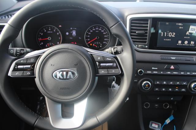 "Kia Sportage 1.6 T-GDI 177 PS-Navi-Rückfahrkamera-17""Alu-Tempomat-Klimaautomatik-Bluetooth"