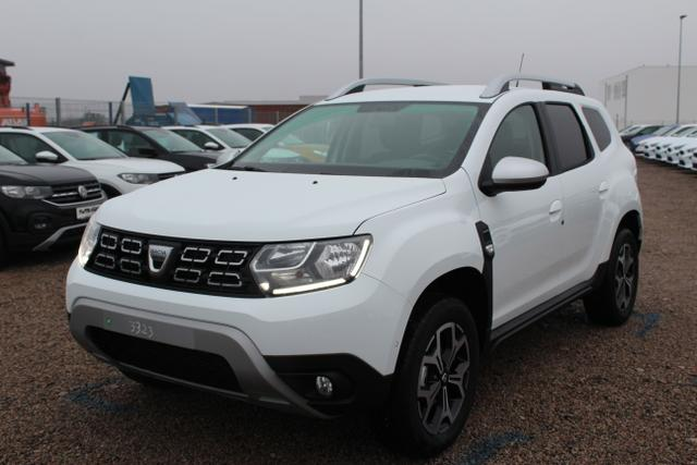 Lagerfahrzeug Dacia Duster - Prestige TCe 150 4x4-Navi-Bluetooth-SHZ-PDC-Tempomat-Rückfahrkamera-Sofort