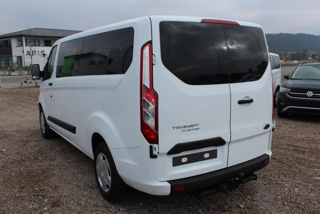 Ford Transit Custom - L2H1 320 2.0 TDCI 105 PS-9 Sitzer-Klima-Navi-2xPDC-DAB-Tempomat-AHK-Sofort