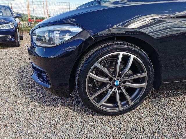 "Lagerfahrzeug BMW 1er - 118i Sportline 136 PS Automatik-NaviBusiness-LED-18""Alu-PDC-SHZ-Sofort"