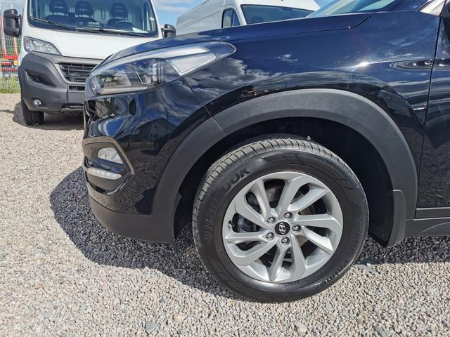 "Gebrauchtfahrzeug Hyundai Tucson - Comfort 1.6 GDI 132 PS-Navi-4xSHZ-Tempomat-Bluetooth-Kamera-17""Alu-Sofort"