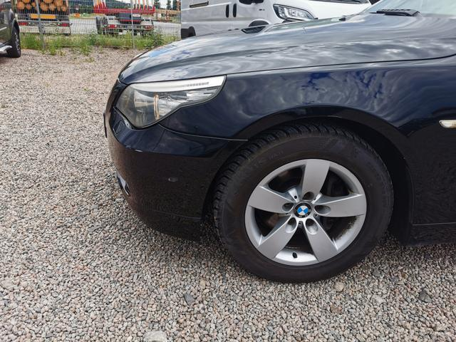 Gebrauchtfahrzeug BMW 5er - 520d Automatik 177 PS-NaviBusiness-Xenon-2xPDC-SHZ-Tempomat-Anhängerkupplung-Sofort