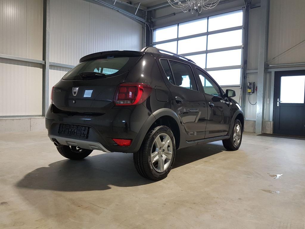 Dacia / Sandero / Schwarz /  /  / Stepway 100 TCe ECO-G 100 PS-RadioMp3-Klima-Tempomat-DAB-PDC-Sofort
