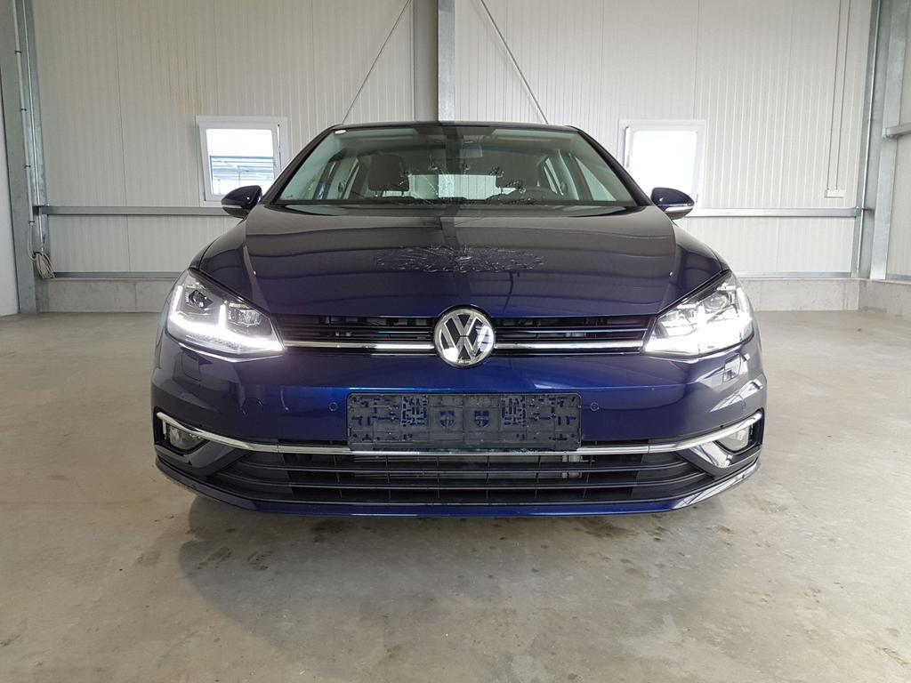 Volkswagen / Golf / Blau /  /  /