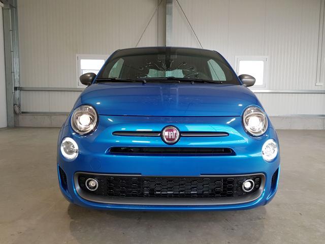 "Lagerfahrzeug Fiat 500 - Sport 1.0 Hybrid 70PS-Tempomat-Licht-u.Regensensor-AndroidAuto-AppleCarPlay-15""Alu-Sofort"