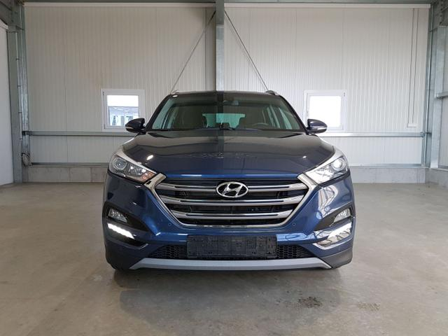 Gebrauchtfahrzeug Hyundai Tucson - 1.6 GDI 132PS - NAVI-2xPDC-DAB Radio-Spurhalteass.-Tempomat-SHZ-Sofort