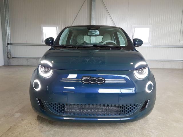 Lagerfahrzeug Fiat 500 - e La Prima Launch Edition E-Motor 118 PS-Fiat Co-Pilot-Panodach-Kamera-ACC-Navi-2xPDC-Leder-Sofort