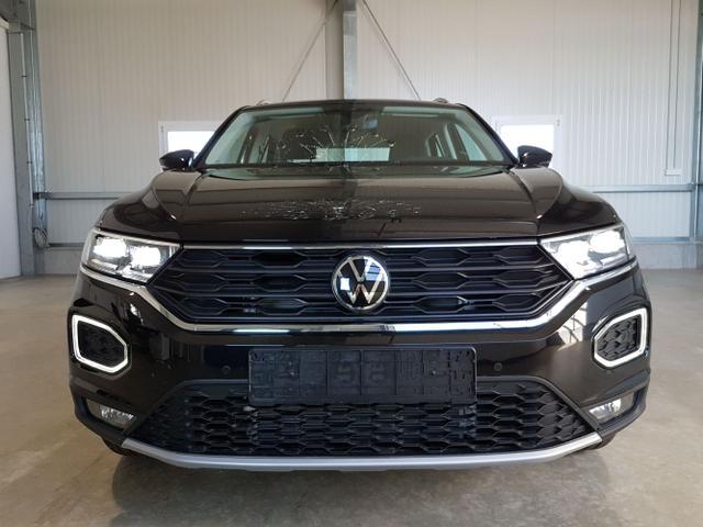 Volkswagen T-Roc - Sport 1.5 TSI 150 PS DSG-Navi-ACC-VollLED-PDC-SHZ-Verkehrszeichen-SideAssist-Sofort Lagerfahrzeug