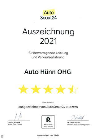 Autoscout 2021