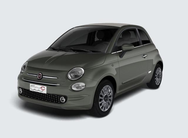"""Vorlauffahrzeug Fiat 500C - 1.2 Dualogic Lounge CarPlay Klima 15"""" NSW"""