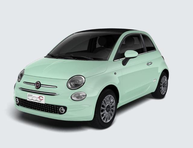 "Vorlauffahrzeug Fiat 500C - 1.2 Dualogic Lounge vollNav 15"" KomP Klima"