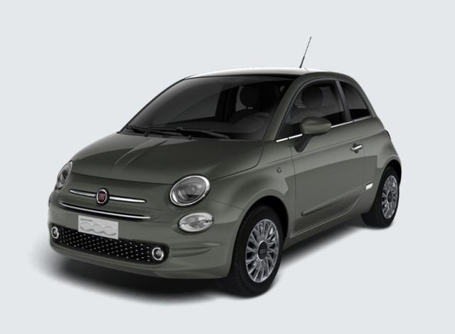 """Vorlauffahrzeug Fiat 500 - 1.2 Dualogic Lounge vollNav SchiebeD 15"""" NSW"""