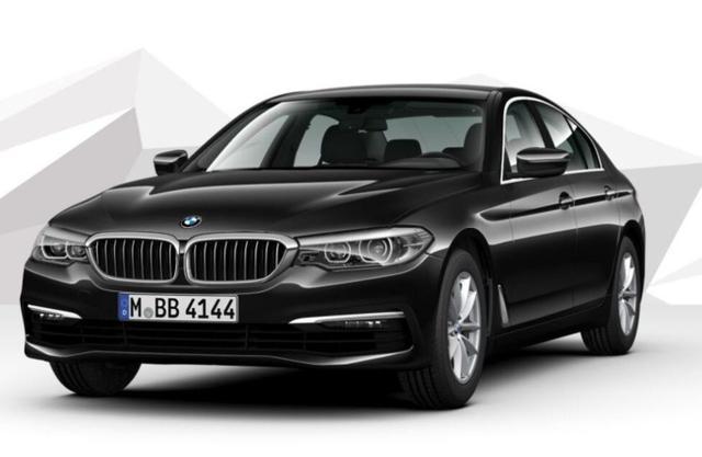 BMW 5er - 520d Aut. Leder Nav el.Heck el.Sitze Kam DAB