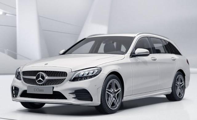 Mercedes-Benz C-Klasse - C 220 d T Aut AMG Line SpiegelP el.Heck AblageP
