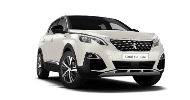 Peugeot 3008 - 1.5 BHDi 130 Aut GT-Line LED Keyl Nav SHZ