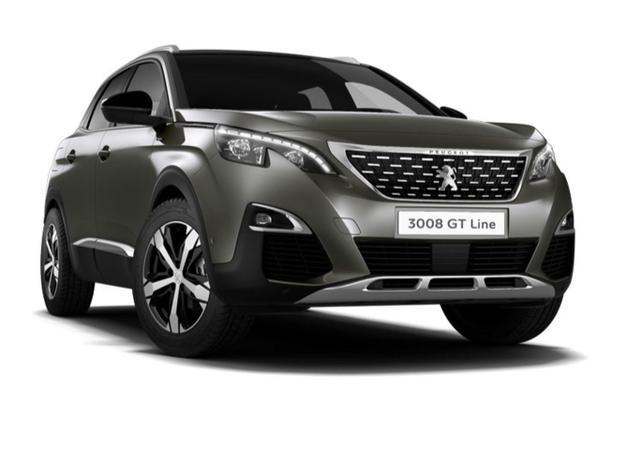 Peugeot 3008 - 1.5 BHDi 130 Aut GT-Line Keyl Focal elHeck